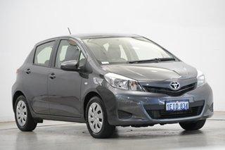 2013 Toyota Yaris NCP131R YRS Grey 4 Speed Automatic Hatchback
