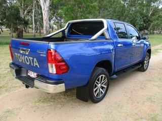 2018 Toyota Hilux GUN126R MY19 SR5 (4x4) Nebula Blue 6 Speed Automatic Double Cab Pick Up.