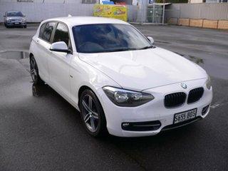 2012 BMW 118i F20 118i White 8 Speed Sports Automatic Hatchback.