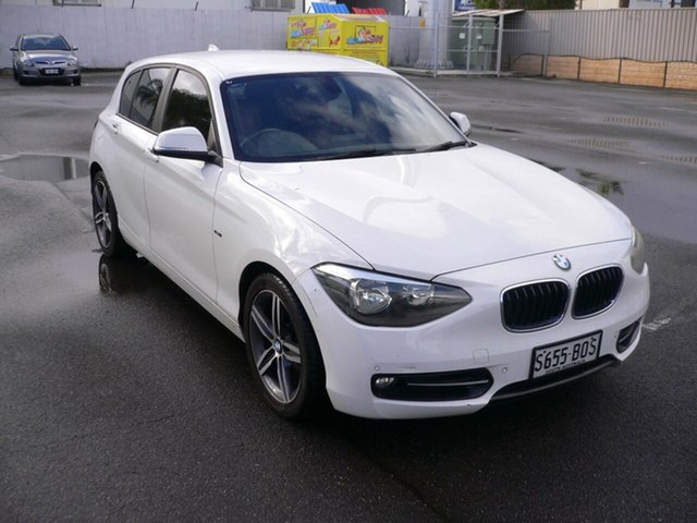 Used BMW 118i F20 118i St Marys, 2012 BMW 118i F20 118i White 8 Speed Sports Automatic Hatchback