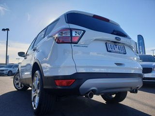 2018 Ford Escape ZG 2019.25MY Titanium White 6 Speed Sports Automatic Dual Clutch SUV.