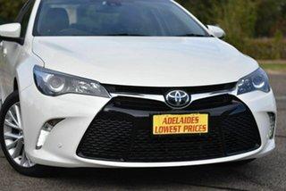2016 Toyota Camry ASV50R Atara SL White 6 Speed Sports Automatic Sedan