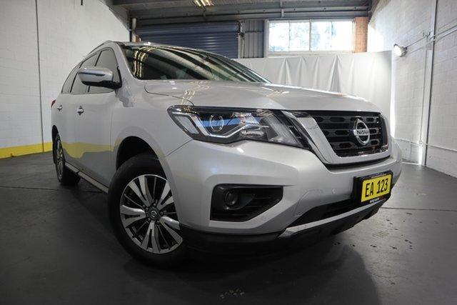 Used Nissan Pathfinder R52 Series II MY17 ST X-tronic 2WD Castle Hill, 2017 Nissan Pathfinder R52 Series II MY17 ST X-tronic 2WD Silver 1 Speed Constant Variable Wagon