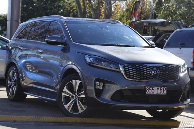 Used Kia Sorento UM MY18 GT-Line AWD Toowoomba, 2018 Kia Sorento UM MY18 GT-Line AWD Grey 8 Speed Sports Automatic Wagon