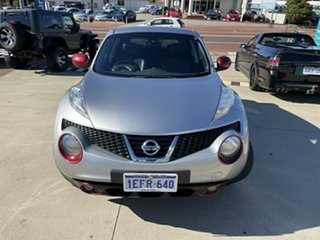 2014 Nissan Juke F15 TI-S (AWD) Silver Continuous Variable Wagon.