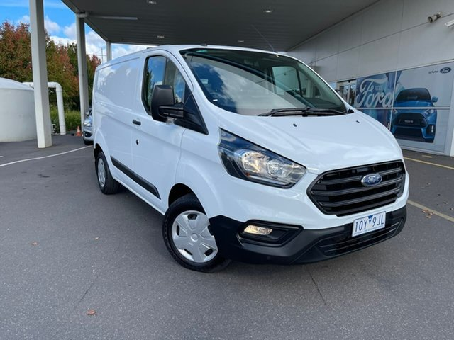 Used Ford Transit Custom VN 2018.75MY 300S (Low Roof) Essendon Fields, 2018 Ford Transit Custom VN 2018.75MY 300S (Low Roof) White 6 Speed Automatic Van