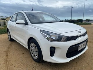 2018 Kia Rio YB MY18 S White 4 Speed Sports Automatic Hatchback.