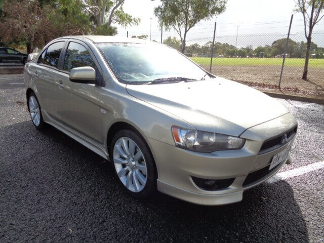 Used Mitsubishi Lancer CJ MY08 VR-X Elizabeth, 2007 Mitsubishi Lancer CJ MY08 VR-X Champagne 6 Speed Constant Variable Sedan