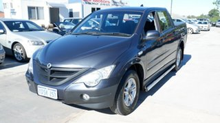 2011 Ssangyong Actyon 100 Series MY08 SPR Grey 4 Speed Automatic Wagon.