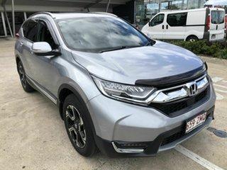 2019 Honda CR-V RW MY20 VTi-LX 4WD Silver 1 Speed Constant Variable Wagon.