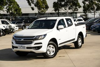 2018 Holden Colorado RG LS White Sports Automatic Cab Chassis.