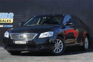 2011 Toyota Aurion GSV40R MY10 AT-X Black 6 Speed Sports Automatic Sedan.