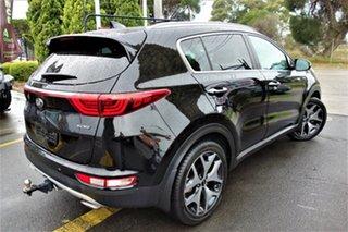2016 Kia Sportage QL MY17 GT-Line AWD Black 6 Speed Sports Automatic Wagon.