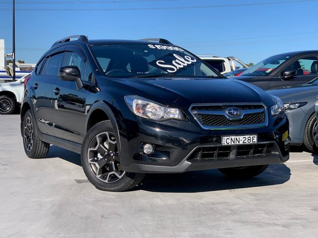 Used Subaru XV G4X MY14 2.0i-S Lineartronic AWD Liverpool, 2013 Subaru XV G4X MY14 2.0i-S Lineartronic AWD Black 6 Speed Constant Variable Wagon