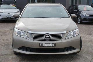 2014 Toyota Aurion GSV50R AT-X Brown 6 Speed Sports Automatic Sedan.