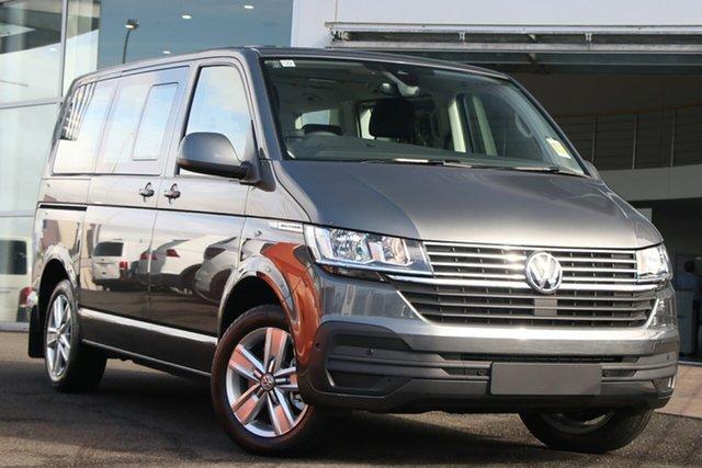 New Volkswagen Multivan T6.1 MY20 TDI340 SWB DSG Comfortline Premium Indooroopilly, 2020 Volkswagen Multivan T6.1 MY20 TDI340 SWB DSG Comfortline Premium Indium Grey 7 Speed