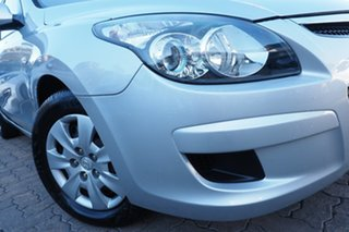 2011 Hyundai i30 FD MY11 SX Silver 4 Speed Automatic Hatchback.