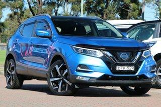 2017 Nissan Qashqai J11 Series 2 N-TEC X-tronic Blue 1 Speed Constant Variable SUV.