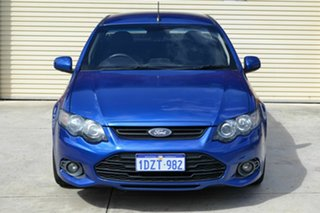 2012 Ford Falcon FG MkII XR6 Super Cab Blue 6 Speed Sports Automatic Cab Chassis.