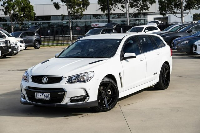 Used Holden Commodore VF II MY16 SS V Sportwagon Pakenham, 2016 Holden Commodore VF II MY16 SS V Sportwagon White 6 Speed Sports Automatic Wagon