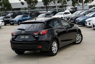 2016 Mazda 3 BN Series Maxx Black Sports Automatic Hatchback.