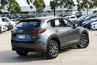 2018 Mazda CX-5 KF4W2A GT SKYACTIV-Drive i-ACTIV AWD Grey 6 Speed Sports Automatic Wagon.