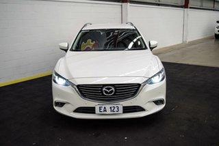 2016 Mazda 6 GL1031 Touring SKYACTIV-Drive White 6 Speed Sports Automatic Wagon.
