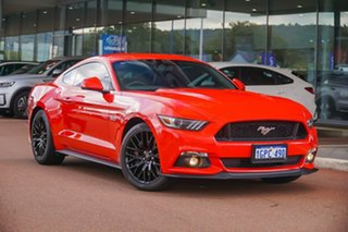 2015 Ford Mustang FM GT Fastback Red 6 Speed Manual Fastback.