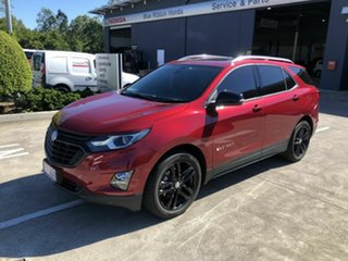2019 Holden Equinox EQ MY20 Black Edition FWD Red 6 Speed Sports Automatic Wagon