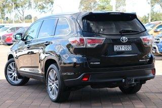 2015 Toyota Kluger GSU55R Grande AWD Black 6 Speed Sports Automatic SUV.