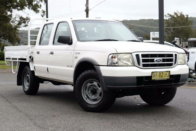 Used Ford Courier PH (Upgrade) GL Crew Cab 4x2 West Gosford, 2006 Ford Courier PH (Upgrade) GL Crew Cab 4x2 White 5 Speed Automatic Utility