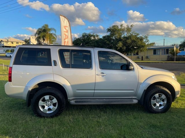 Used Nissan Pathfinder R51 MY10 ST Gympie, 2011 Nissan Pathfinder R51 MY10 ST Silver 5 Speed Sports Automatic Wagon