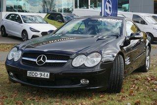 2003 Mercedes-Benz SL-Class R230 SL500 Black 5 Speed Sports Automatic Roadster