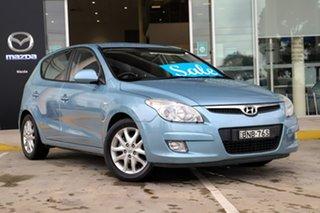 2010 Hyundai i30 FD MY10 SX Blue 4 Speed Automatic Hatchback.