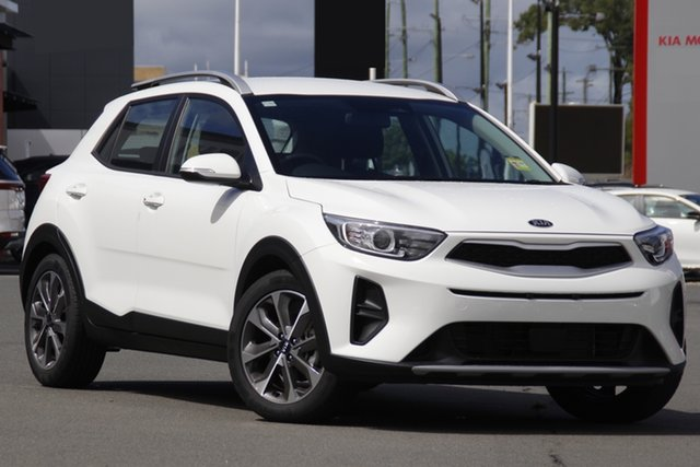 New Kia Stonic YB MY21 Sport FWD Echuca, 2021 Kia Stonic YB MY21 Sport FWD Clear White 6 Speed Automatic Wagon