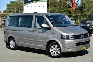 2012 Volkswagen Multivan T5 MY12 Comfortline TDI340 Silver 7 Speed Auto Direct Shift Wagon.