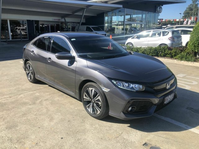 Used Honda Civic 10th Gen MY19 VTi-L Yamanto, 2019 Honda Civic 10th Gen MY19 VTi-L Grey 1 Speed Constant Variable Hatchback