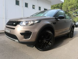 2016 Land Rover Discovery Sport L550 17MY HSE Luxury Brown 9 Speed Sports Automatic Wagon.