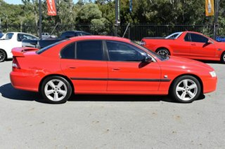 2005 Holden Commodore VZ Executive Red 4 Speed Automatic Sedan