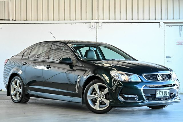 Used Holden Commodore VF II MY16 SV6 Laverton North, 2015 Holden Commodore VF II MY16 SV6 Regal Peacock Green 6 Speed Sports Automatic Sedan