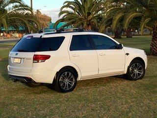 2014 Ford Territory SZ Titanium Seq Sport Shift White 6 Speed Sports Automatic Wagon.