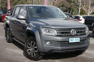 2015 Volkswagen Amarok 2H MY16 TDI420 4MOTION Perm Canyon Grey 8 Speed Automatic Utility.