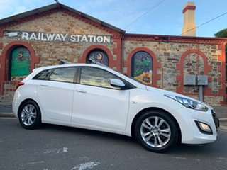 2013 Hyundai i30 GD Active Tourer White 6 Speed Sports Automatic Wagon