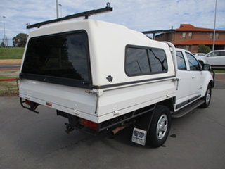 2015 Holden Colorado RG MY15 LS 4x4 White 6 Speed Automatic Dual Cab