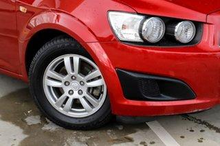 2012 Holden Barina TM Red 5 Speed Manual Hatchback