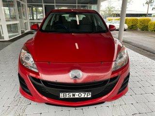 2010 Mazda 3 Maxx Velocity Red Sports Automatic Hatchback.