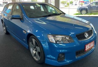 2013 Holden Commodore VE II MY12.5 SS Sportwagon Z Series Blue 6 Speed Manual Wagon.