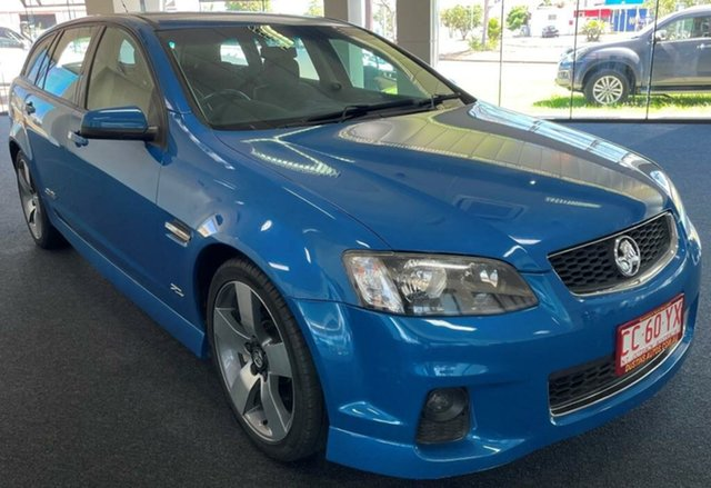 Used Holden Commodore VE II MY12.5 SS Sportwagon Z Series Winnellie, 2013 Holden Commodore VE II MY12.5 SS Sportwagon Z Series Blue 6 Speed Manual Wagon