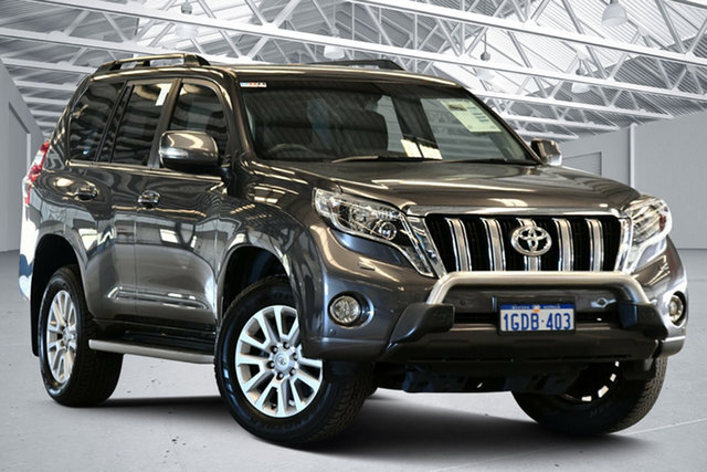 Used Toyota Landcruiser Prado GDJ150R MY16 VX (4x4) Perth Airport, 2016 Toyota Landcruiser Prado GDJ150R MY16 VX (4x4) Graphite 6 Speed Automatic Wagon