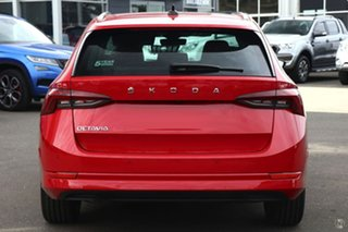 2021 Skoda Octavia NX MY21 110TSI Style Red 8 Speed Automatic Wagon.